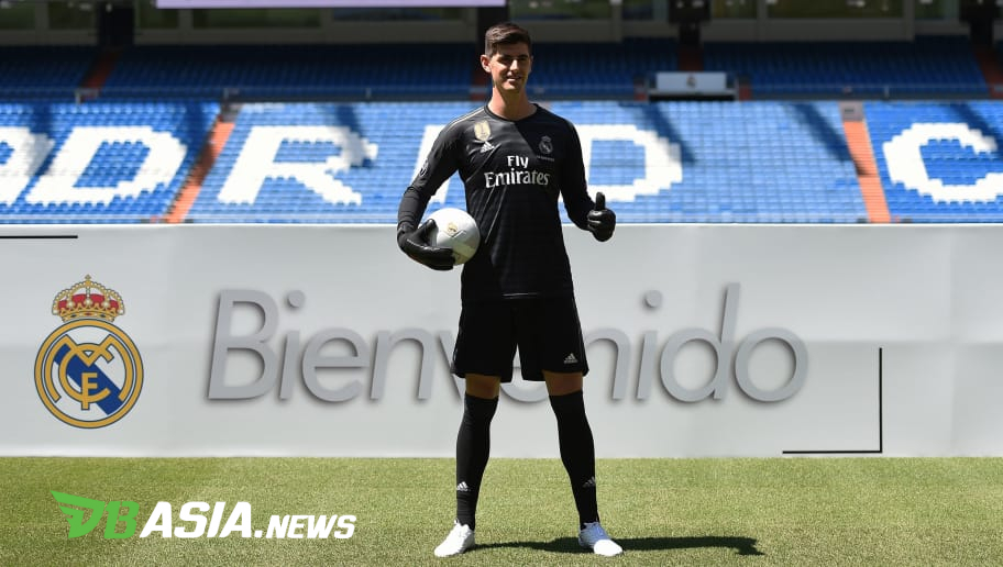 online store f65ae 07845 DBAsia News   Courtois Reason of Joining Real Madrid ...