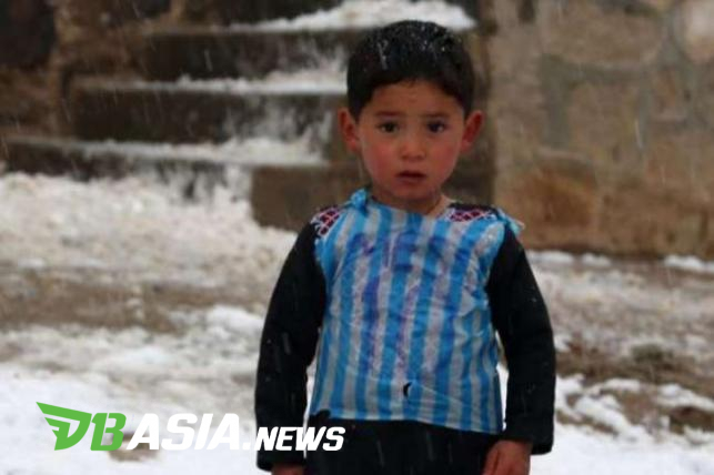 hot sales c63e2 2cb76 DBAsia News | Afghanistan's Kid with Plastic Bag Jersey ...